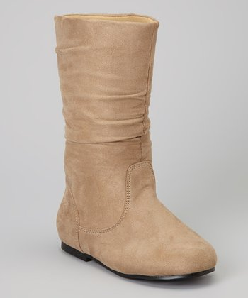 Taupe Hot Boot