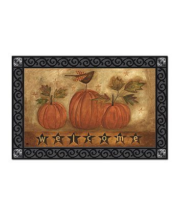 'Welcome' Pumpkins MatMate Doormat
