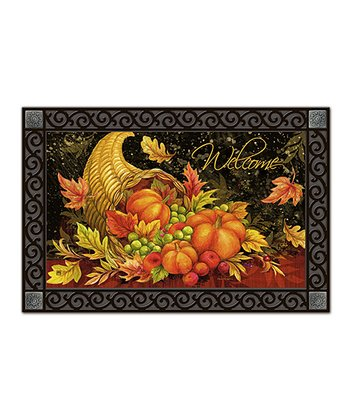 'Welcome' Bountiful Blessings Doormat