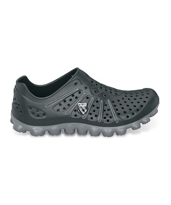 Black & Charcoal Vertical Tbs Recover Running Shoe - Unisex