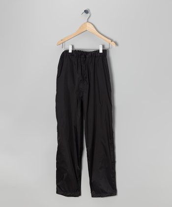 Black Thunderlight Pants - Kids