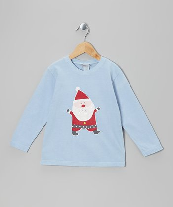 Blue Jolly Santa Tee - Infant, Toddler & Boys