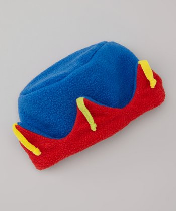 Blue Primary Combo Crown Hat