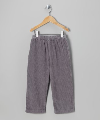 Gray Corduroy Pants - Infant & Boys