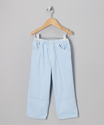 Kai Blue Twill Pants - Infant, Toddler & Boys