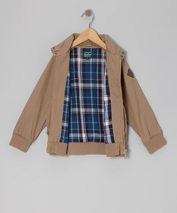 Tan Twill Jacket - Infant, Toddler & Boys