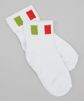 Portugal Flag Socks