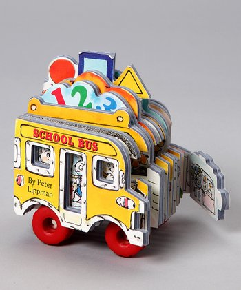 Mini Wheel Books: School Bus Board Book