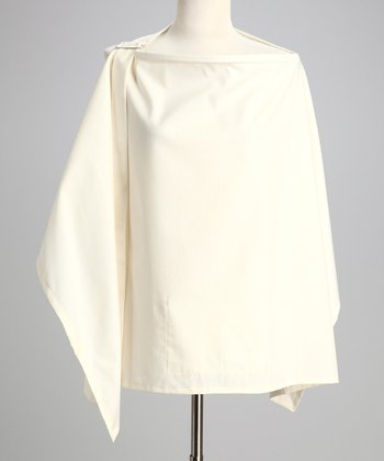 Ivory Organic Nursing Cover & Burp Cloth - Women