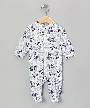 Off-White Mickey Footie - Infant