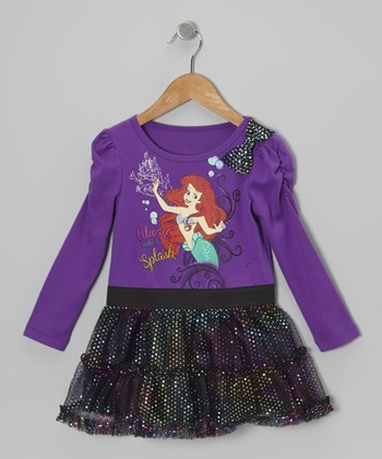 Purple Shimmer Ariel Dress - Infant & Toddler