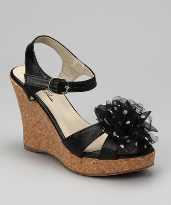 Black Billie Wedge