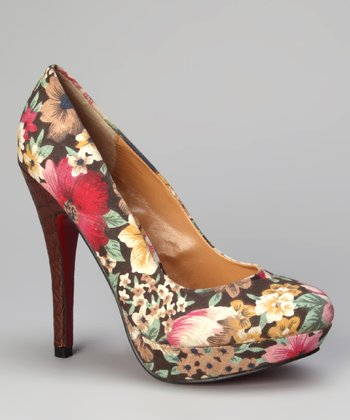 Brown Bouton Platform Pump