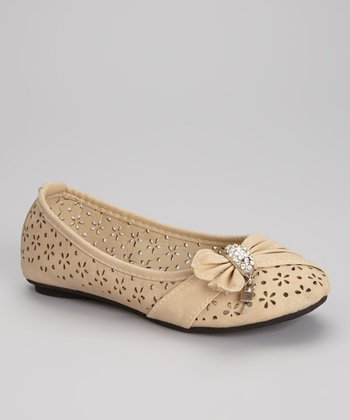 Nude Machita-K Ballet Flat
