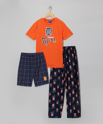 Detroit Tigers Pajama Set - Boys