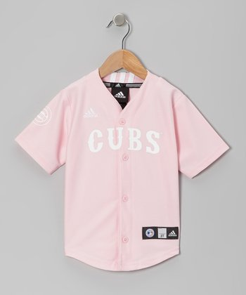 Pink Chicago Cubs Jersey - Infant, Toddler & Girls
