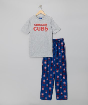 Chicago Cubs Pajama Set - Boys