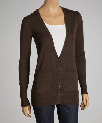 Coffee Cardigan