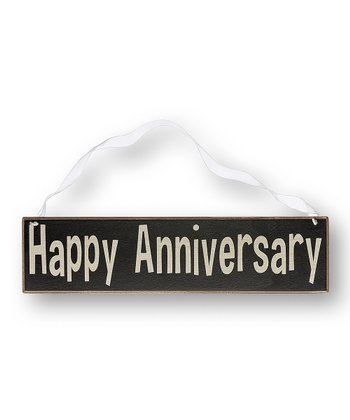 'Happy Anniversary' Sign