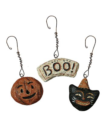 Halloween Six-Piece Ornament Set