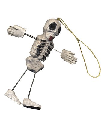 Skeleton Guy Ornament Set