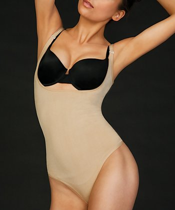 Nude Thong Under-Bust Body Shaper - Women & Plus