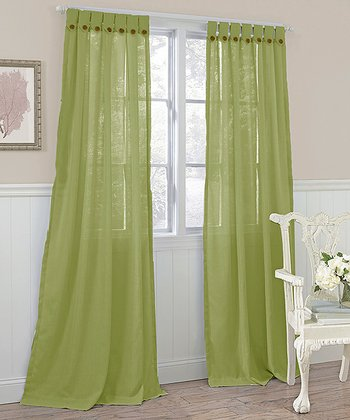 Sage Easton Curtain Panel - Set of Two