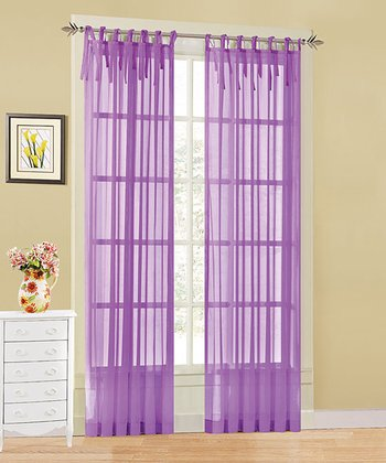 Purple Leslie Sheer Panel