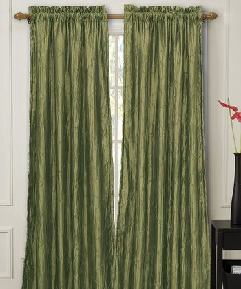 Sage Nathan Lined Curtain Panel