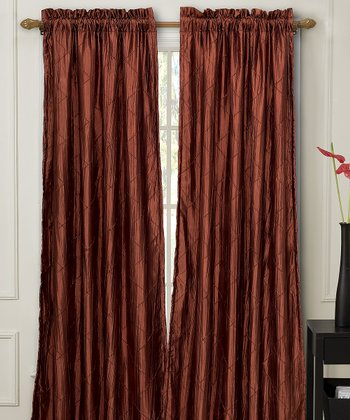 Spice Nathan Lined Curtain Panel