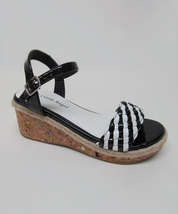 Black & White Cici Sandal
