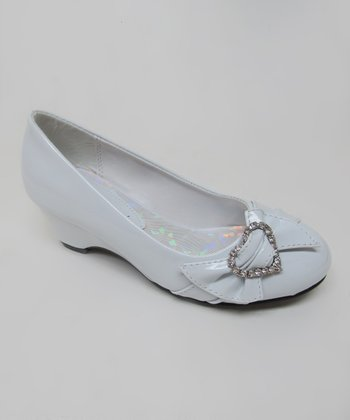 White Heart Hailey Shoe