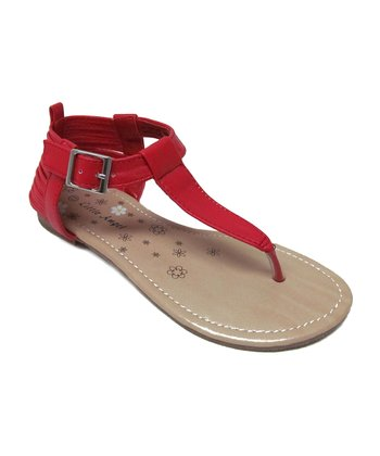 Red Jessie Sandal