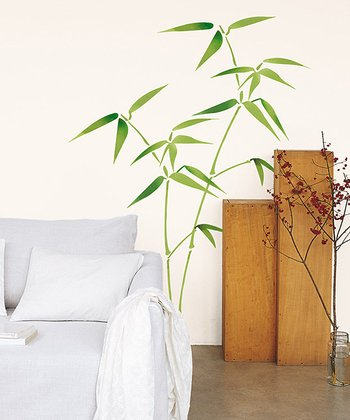 Bamboo Wall Decal Set
