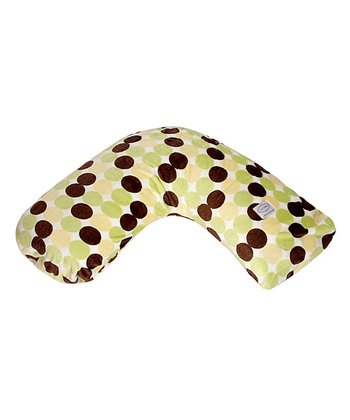 Big Sage Polka Dot Bosom Baby Nursing Pillow