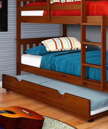 Espresso Trundle Bed