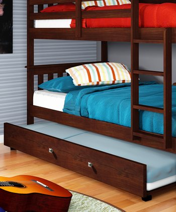 Cappuccino Trundle Bed