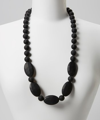 Black Emma Teething Necklace