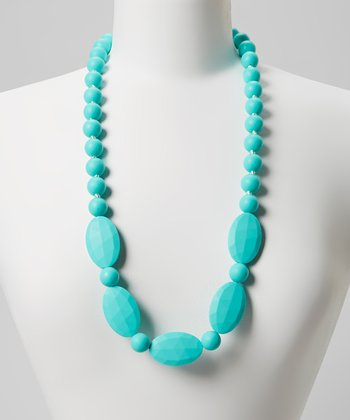 Turquoise Emma Teething Necklace