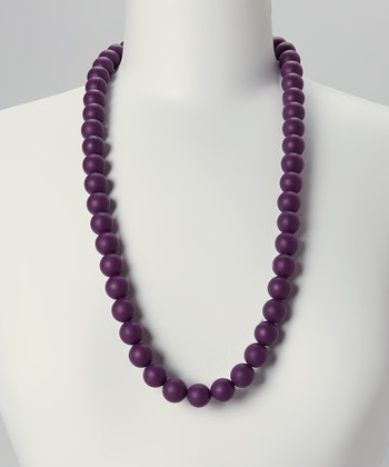 Plum Grace Teething Necklace