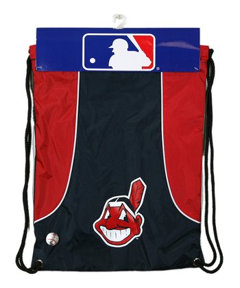 Cleveland Indians Navy Axis Drawstring Backpack