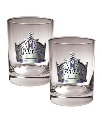 Los Angeles Kings 14-Oz. Glass - Set of Two