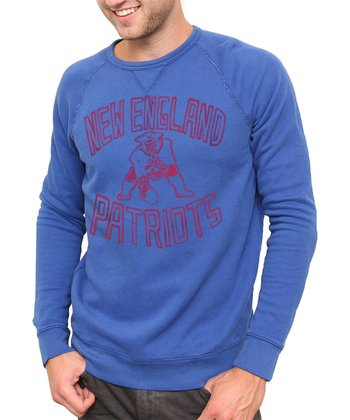 Blue New England Patriots Sweatshirt - Men