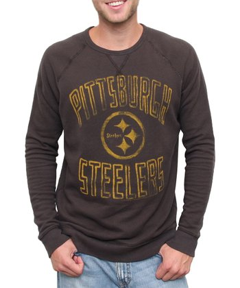 Black Pittsburgh Steelers Sweatshirt - Men