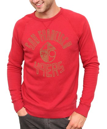 Red San Francisco 49ers Sweatshirt - Men