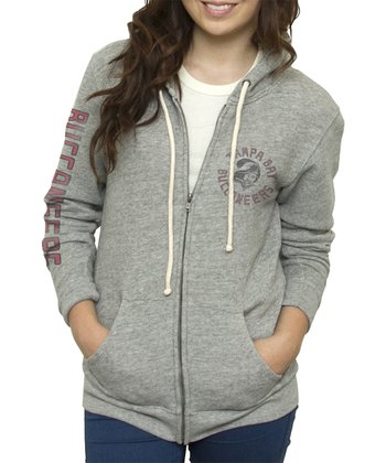 Heather Tampa Bay Buccaneers Hoodie - Women