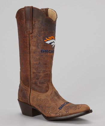 Denver Broncos Flyover Cowboy Boot - Women