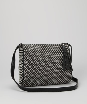 Black Diamond Crossbody Bag