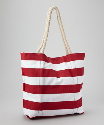 Red Stripe Tote