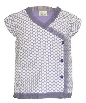 Lilac Ambrosia Wrap Top - Toddler & Girls
